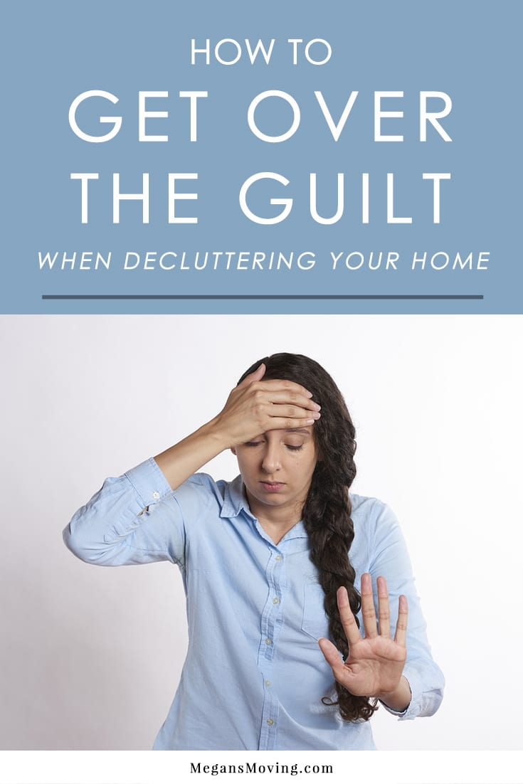 If you are experiencing guilt when decluttering, here are some tips to help you get past those negative feelings and get rid of what you no longer want or need without reservation.