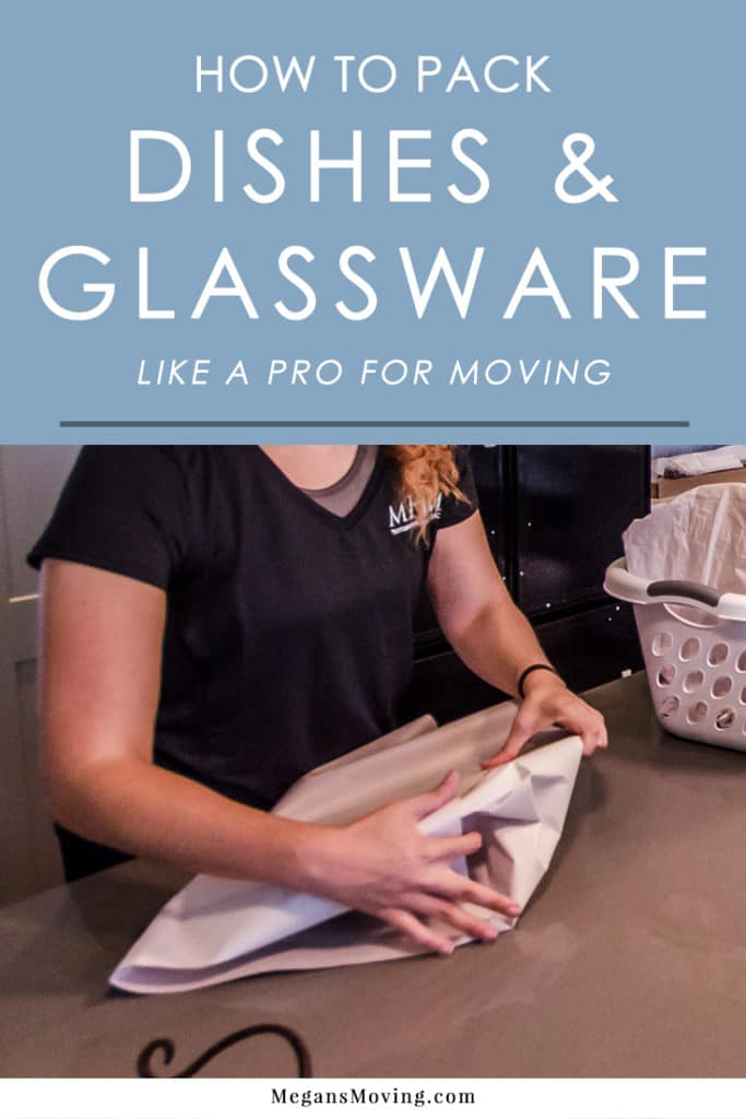 How to Pack Dishes and Glassware