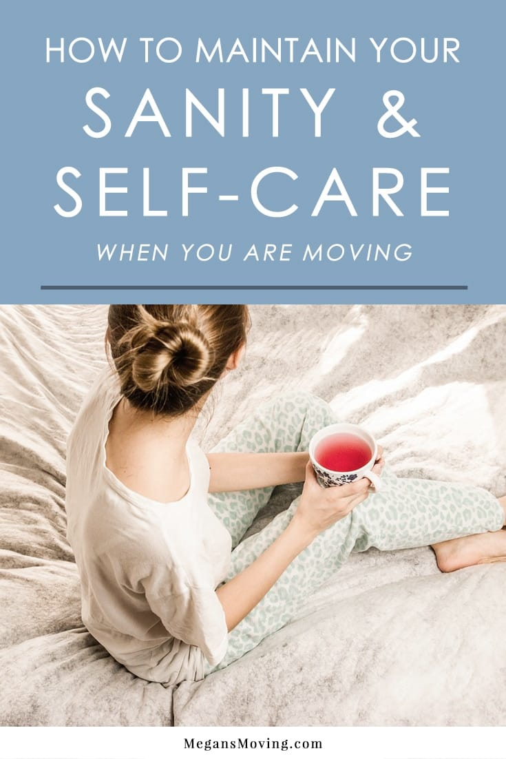 Moving can be one of the most stressful events in a person's life, so it's important to take care of your physical and mental well-being during the process. Here are some tips to help you stay sane during a move.
