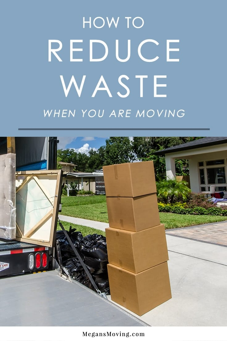 The process of moving can create a lot of waste. Follow these tips to limit the waste and make your move as eco-friendly as possible.