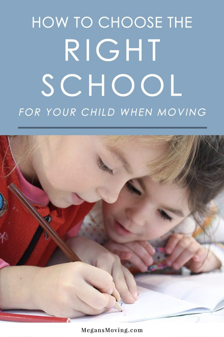 If you have kids, one of the most important choices to make when moving is where your kids will attend school. Here are some tips to help you choose the right education for your child.