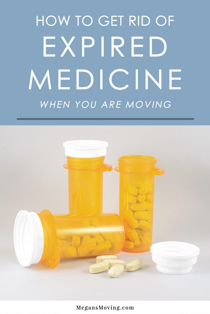 Before you toss out expired or unwanted medicine while decluttering for a move, read these important tips on how to do so safely.