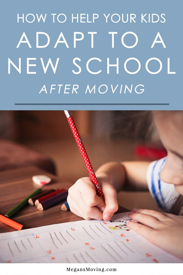 Does your child feel anxiety about starting at a new school after moving? Follow these tips to help them settle in.