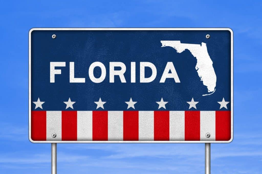 Florida road sign