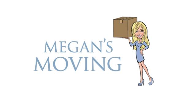 Megan's Moving Logo